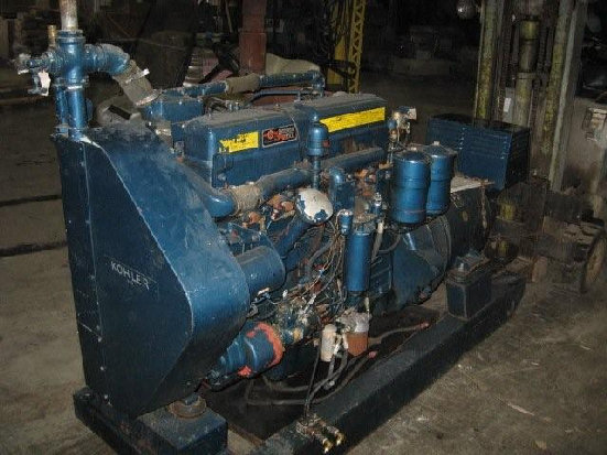 KOHLER GENERATORMod 75R074Serial # 249699Red Seal Continental Diesel900 Hrs75 KW93.75 KVAAmps 112.83 PH60 CycleHP 142RPM 1800 $4,500