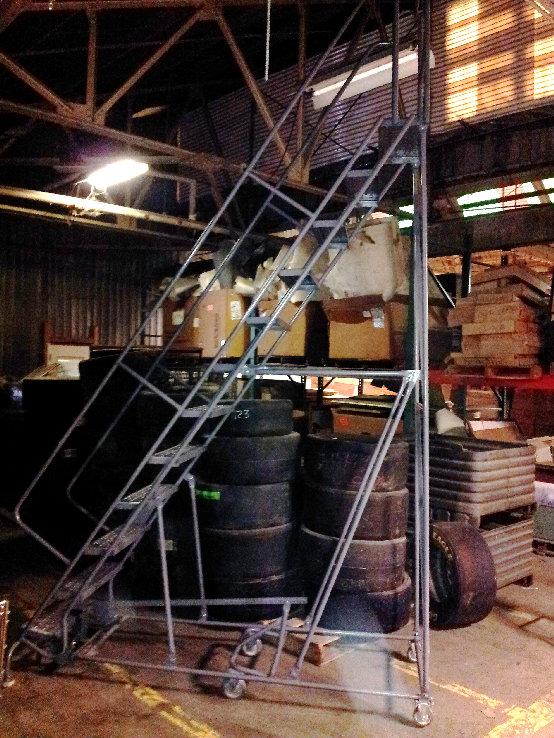 Roll Around Ladder
